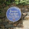 Blue Plaque of Denys Corbet